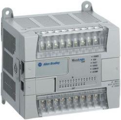 Allen Bradley 1762-L24AWAR Micrologix 1200 10 outputs 120V AC PLC