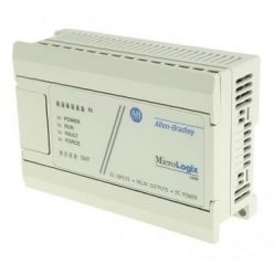 Allen-Bradley MicroLogix 1000 1761-L10BWB PLC 24V dc 10 Points