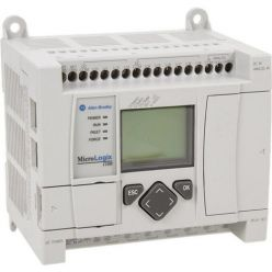 Allen Bradley PLC 1763-L16DWD MicroLogix 1100 Processor 16-Point DC Controller 1224V DC